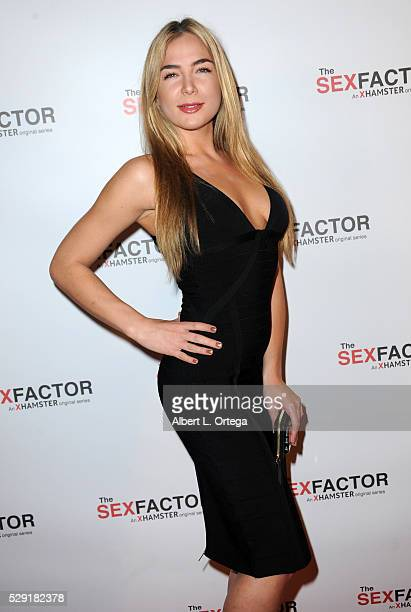 Actress Blair Williams arrives for the Premiere Party For The Sex Factor held at Lure Nightclub on May 7 2016 in Los Angeles California