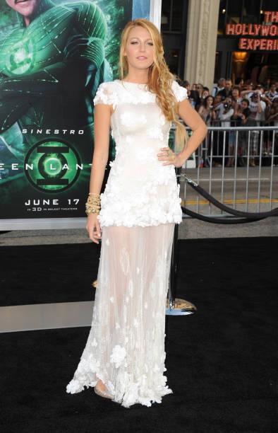 Blake Lively Green Lantern Premiere Hair