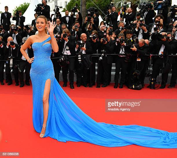 US actress Blake Lively arrives for the screening of the film 'The BFG at the 69th annual Cannes Film Festival in Cannes on May 14 2016