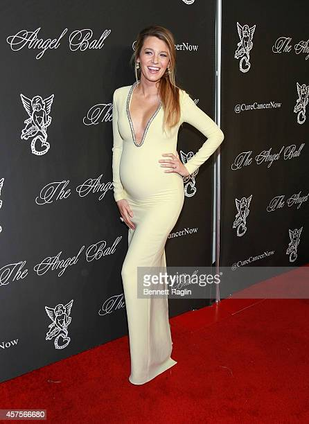 Actress Blake Lively attends 2014 Angel Ball at Cipriani Wall Street on October 20 2014 in New York City