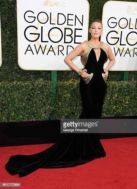 Actress Blake Lively attends 74th Annual Golden Globe Awards held at The Beverly Hilton Hotel on January 8, 2017 in Beverly Hills, California.