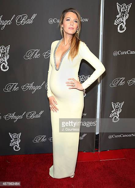 Actress Blake Lively attends Angel Ball 2014 at Cipriani Wall Street on October 20 2014 in New York City