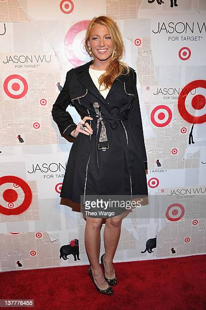 Actress Blake Lively attends Jason Wu For Target Private Launch Event at Skylight SOHO on January 26 2012 in New York City