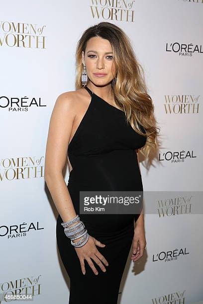 Actress Blake Lively attends L'Oreal Paris' Ninth Annual Women Of Worth Celebration at The Pierre Hotel on December 2, 2014 in New York City.