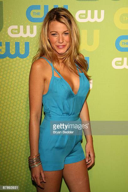 Actress Blake Lively attends the 2009 The CW Network UpFront at Madison Square Garden on May 21 2009 in New York New York