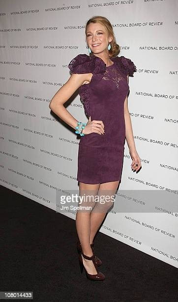 Actress Blake Lively attends the 2011 National Board of Review of Motion Pictures Gala at Cipriani 42nd Street on January 11, 2011 in New York City.
