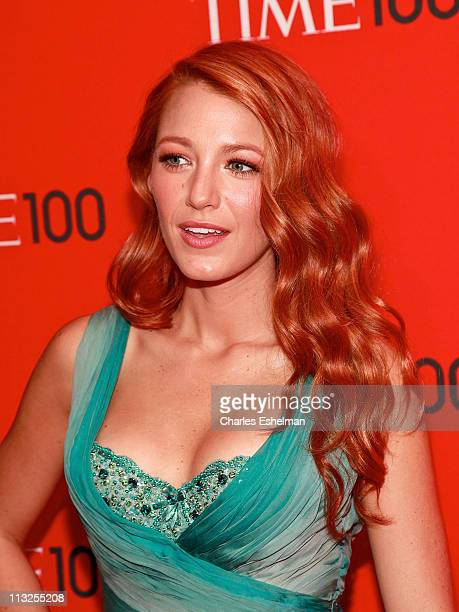Actress Blake Lively attends the 2011 TIME 100 gala at Frederick P Rose Hall Jazz at Lincoln Center on April 26 2011 in New York City