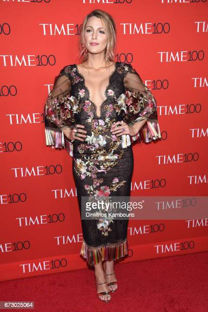 Actress Blake Lively attends the 2017 Time 100 Gala at Jazz at Lincoln Center on April 25 2017 in New York City