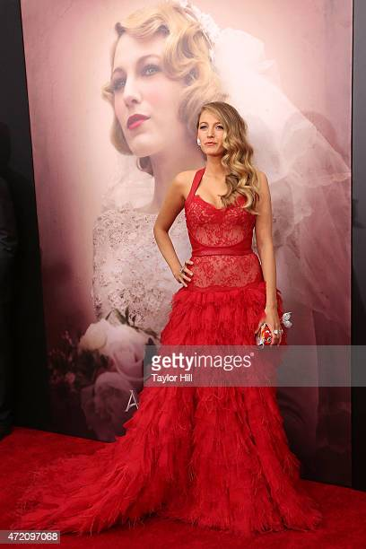 Actress Blake Lively attends The Age of Adaline premiere at AMC Loews Lincoln Square 13 theater on April 19 2015 in New York City