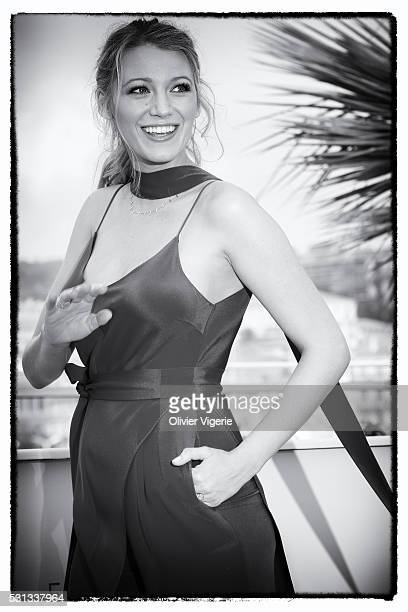 Actress Blake Lively attends the 'Cafe Society' Photocall during The 69th Annual Cannes Film Festival on May 11 2016 in Cannes France