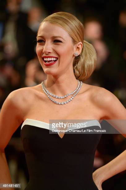 Actress Blake Lively attends the 'Captives' Premiere at the 67th Annual Cannes Film Festival on May 16 2014 in Cannes France