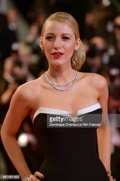 Actress Blake Lively attends the Captives Premiere at the 67th Annual Cannes Film Festival on May 16 2014 in Cannes France