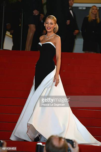 """Actress Blake Lively attends the """"Captives"""" premiere during the 67th Annual Cannes Film Festival on May 16, 2014 in Cannes, France."""
