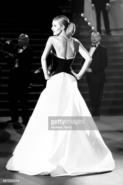 Actress Blake Lively attends the 'Captives' premiere during the 67th Annual Cannes Film Festival on May 16 2014 in Cannes France
