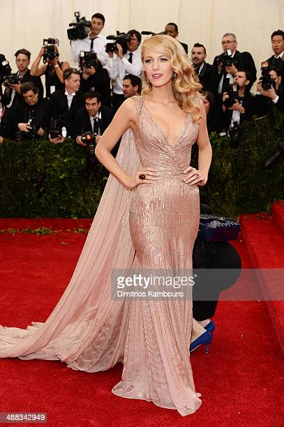 Actress Blake Lively attends the Charles James Beyond Fashion Costume Institute Gala at the Metropolitan Museum of Art on May 5 2014 in New York City