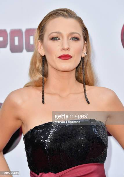 Actress Blake Lively attends the 'Deadpool 2' screening at AMC Loews Lincoln Square on May 14 2018 in New York City