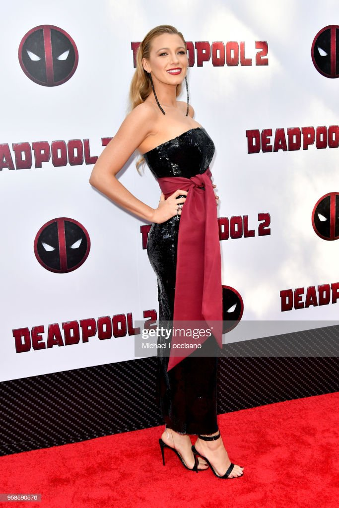 Actress Blake Lively attends the 'Deadpool 2' screening at AMC Loews Lincoln Square on May 14, 2018 in New York City.