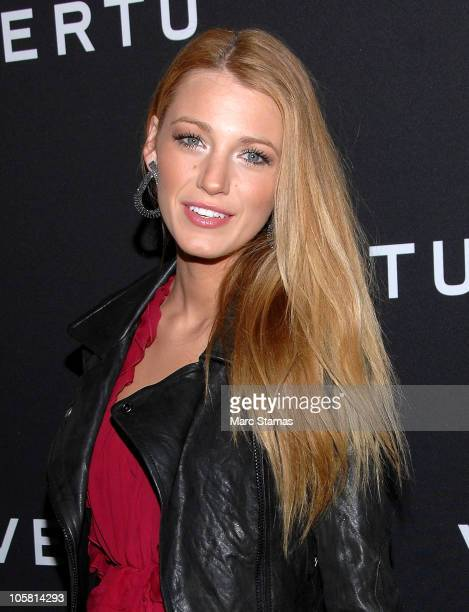 Actress Blake Lively attends the launch of Vertu's smartphone at Berry Hill Galleries on October 20, 2010 in New York City.