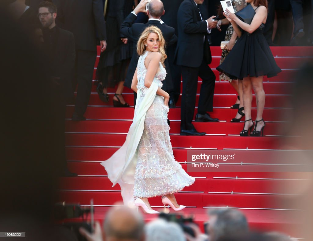 Actress Blake Lively attends the 'Mr. Turner' premiere during the 67th Annual Cannes Film Festival on May 15, 2014 in Cannes, France.