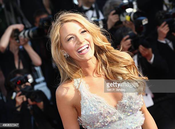 """Actress Blake Lively attends the """"Mr. Turner"""" premiere during the 67th Annual Cannes Film Festival on May 15, 2014 in Cannes, France."""