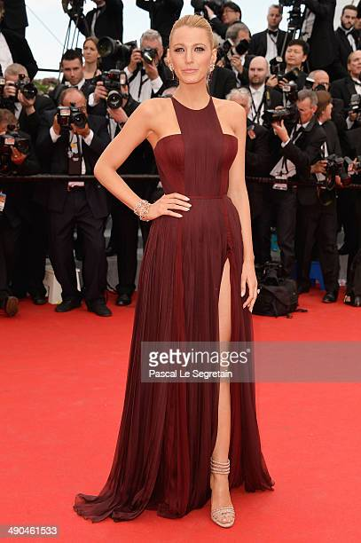 Actress Blake Lively attends the Opening Ceremony and the Grace of Monaco premiere during the 67th Annual Cannes Film Festival on May 14 2014 in...