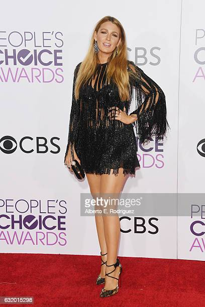 Actress Blake Lively attends the People's Choice Awards 2017 at Microsoft Theater on January 18, 2017 in Los Angeles, California.