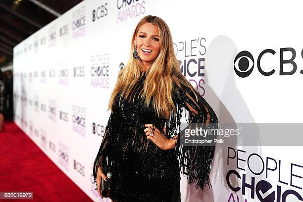 Actress Blake Lively attends the People's Choice Awards 2017 at Microsoft Theater on January 18 2017 in Los Angeles California