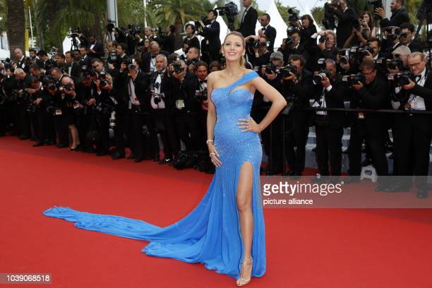 Actress Blake Lively attends the premiere of 'The BFG' during the 69th Annual Cannes Film Festival at Palais des Festivals in Cannes, France, on 14...