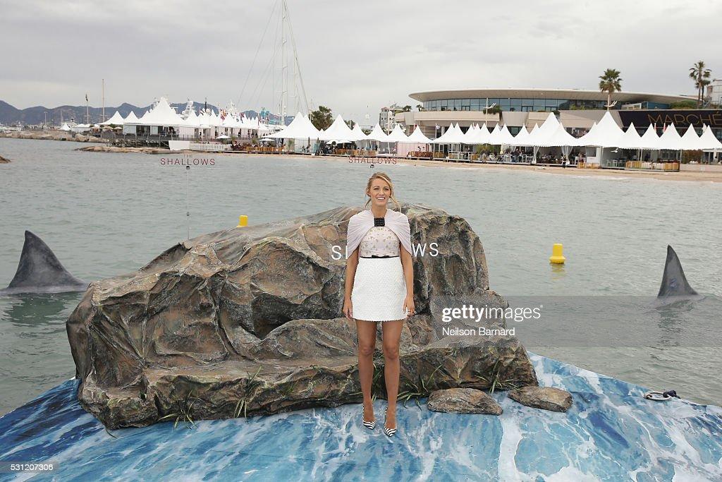'The Shallows' Photocall - The 69th Annual Cannes Film Festival : News Photo