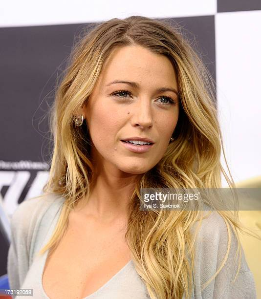 Actress Blake Lively attends the 'Turbo' New York Premiere at AMC Loews Lincoln Square on July 9 2013 in New York City