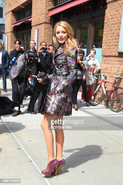Actress Blake Lively is seen on May 7 2014 in New York City