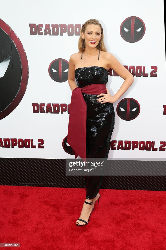 Actress Blake Lively poses for a picture during the 'Deadpool 2' New York Screening at AMC Loews Lincoln Square on May 14, 2018 in New York City.