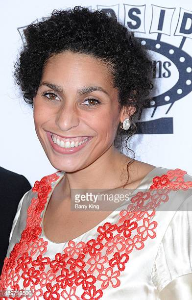 Actress Blake Perlman attends the premiere of Roadside Attractions' 'Stonewall' at the Pacific Design Center on September 23 2015 in West Hollywood...