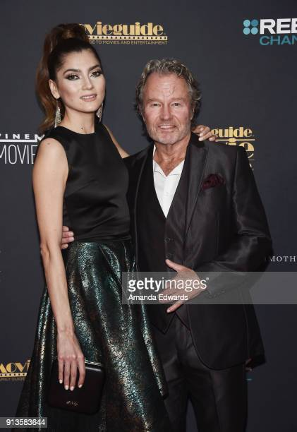 Actress Blanca Blanco and actor John Savage arrive at the 26th Annual Movieguide Awards Faith And Family Gala at the Universal Hilton Hotel on...
