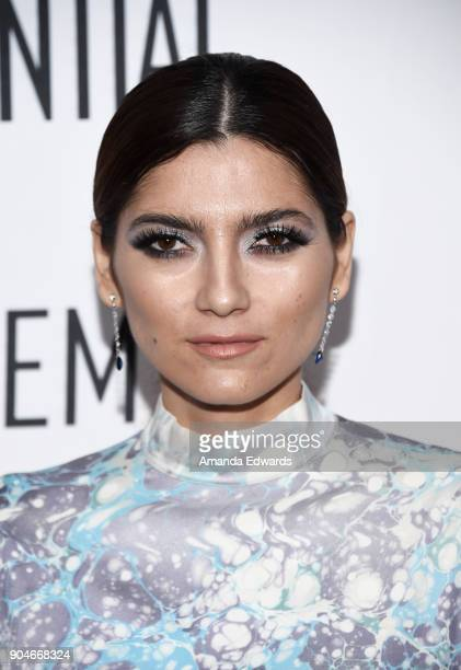 Actress Blanca Blanco arrives at the Los Angeles Confidential 'Awards Issue' Celebration hosted by cover stars Alison Brie Milo Ventimiglia and Ana...