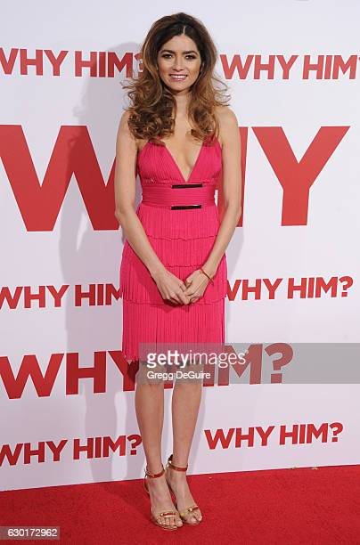 Actress Blanca Blanco arrives at the premiere of 20th Century Fox's 'Why Him' at Regency Bruin Theater on December 17 2016 in Westwood California
