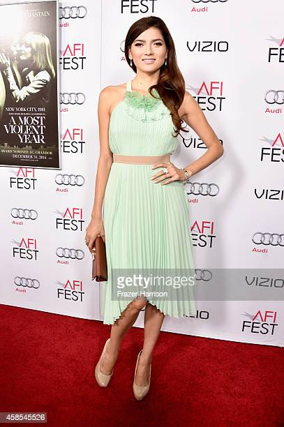 Actress Blanca Blanco attends AFI FEST 2014 presented by Audi opening night gala premiere of A24's 'A Most Violent Year' at Dolby Theatre on November...