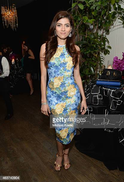 Actress Blanca Blanco attends BVLGARI and Save The Children STOP THINK GIVE PreOscar Event at Spago on February 17 2015 in Beverly Hills California