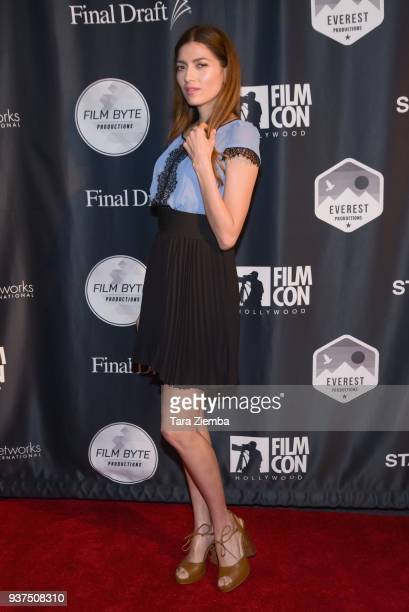 Actress Blanca Blanco attends Film Con Hollywood at Los Angeles Convention Center on March 24 2018 in Los Angeles California