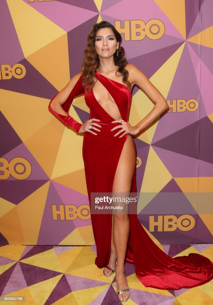 Actress Blanca Blanco Attends Hbo S Official Golden Globe Awards
