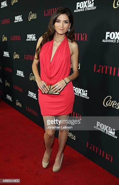 Actress Blanca Blanco attends Latina Magazine's Hollywood Hot List Party at Sunset Tower on October 2 2014 in West Hollywood California