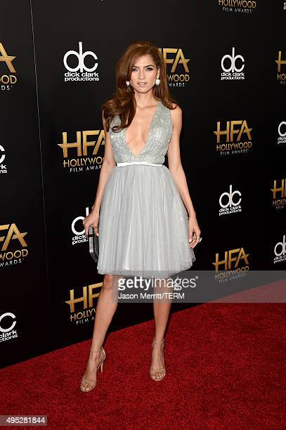 Actress Blanca Blanco attends the 19th Annual Hollywood Film Awards at The Beverly Hilton Hotel on November 1 2015 in Beverly Hills California