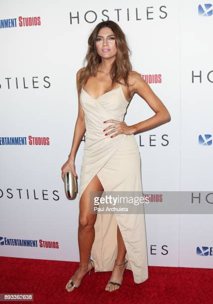 Actress Blanca Blanco attends the premiere of 'Hostiles' at the Samuel Goldwyn Theater on December 14 2017 in Beverly Hills California