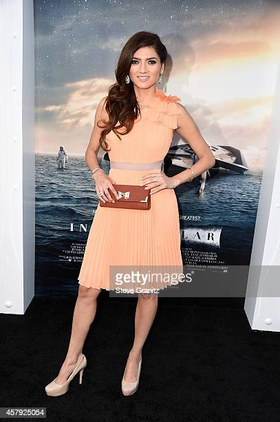 Actress Blanca Blanco attends the premiere of Paramount Pictures' 'Interstellar' at TCL Chinese Theatre IMAX on October 26 2014 in Hollywood...