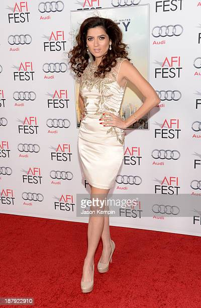Actress Blanca Blanco attends the premiere of 'The Secret Life of Walter Mitty' during AFI FEST 2013 presented by Audi at TCL Chinese Theatre on...