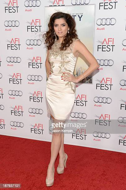 Actress Blanca Blanco attends the premiere of The Secret Life of Walter Mitty during AFI FEST 2013 presented by Audi at TCL Chinese Theatre on...