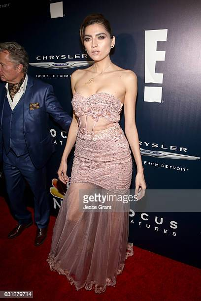 Actress Blanca Blanco attends the Universal NBC Focus Features E Entertainment Golden Globes after party sponsored by Chrysler on January 8 2017 in...
