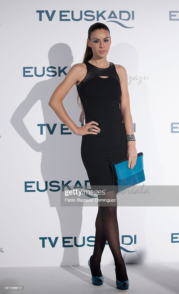 Actress Blanca Jara attends Basque Country Tourism Campaign Presentation at Cibeles Palace on January 17, 2012 in Madrid, Spain.