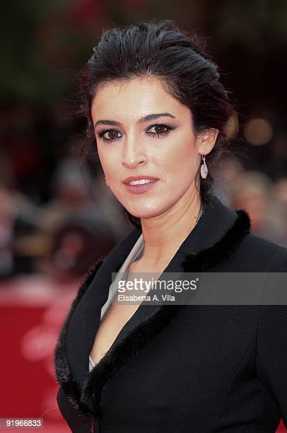 Actress Blanca Romero attends 'After' Red Carpet during day 3 of the 4th Rome International Film Festival held at the Auditorium Parco della Musica...