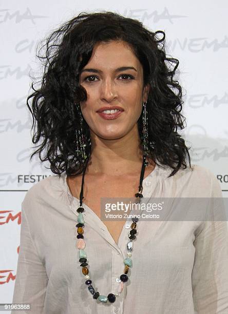 Actress Blanca Romero attends the 'After' Photocall during day 3 of the 4th Rome International Film Festival held at the Auditorium Parco della...